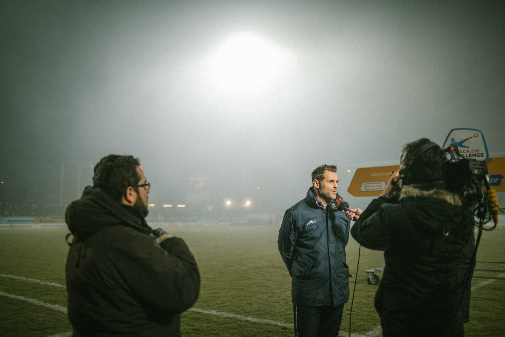 Sven Christ gibt Interviews