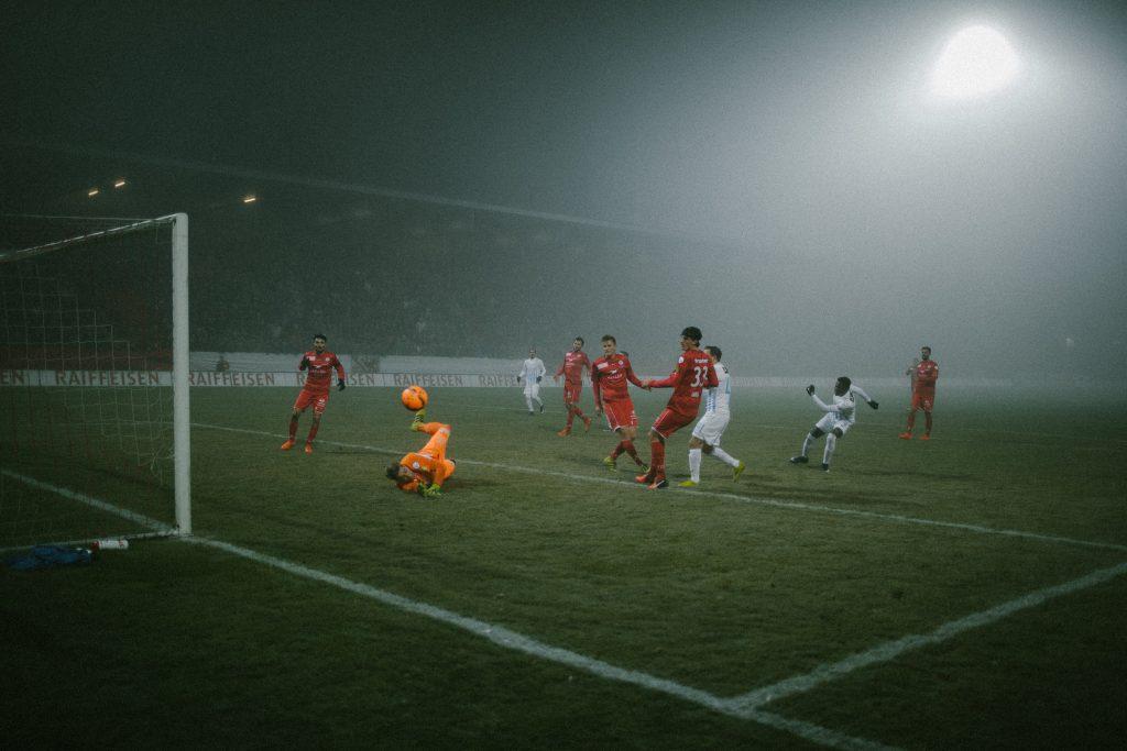 David von Ballmoos rettet gegen FC Z�rich
