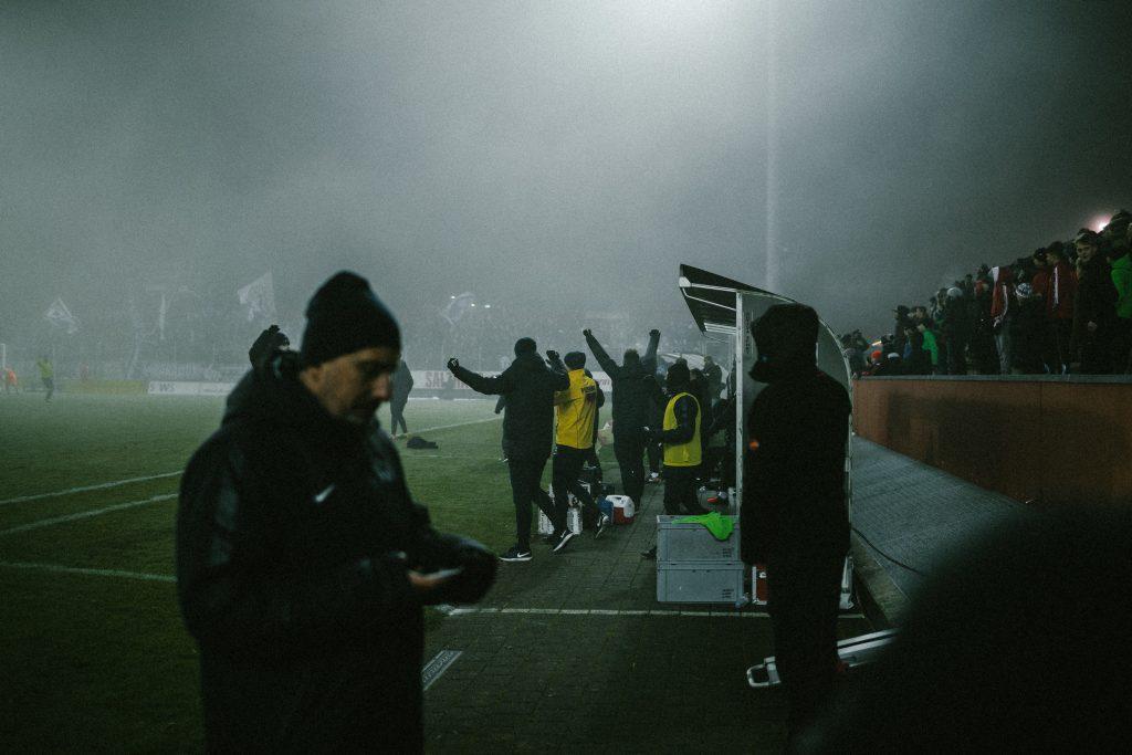 FC Z�rich Spieler im Jubel